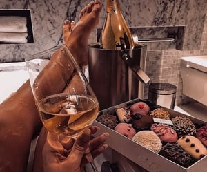 drink, bath, and food image