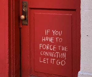 connection, door, and let it go image