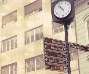 clock, dreamy, and pastel image