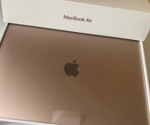 apple, macbook air, and photo image