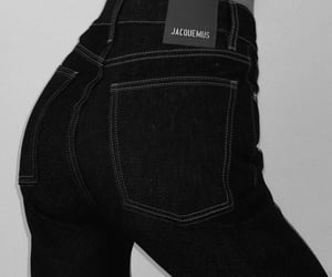 fashion, jeans, and jacquemus image