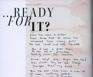 13, Lyrics, and Reputation image