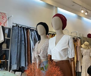 bags, cloth, and pants image