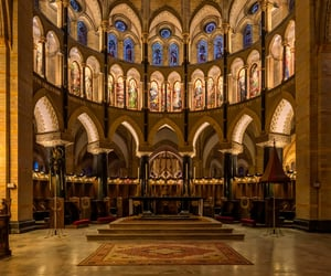 architecture, belgium, and Christianity image