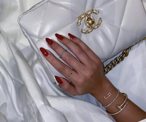 chanel, hand bags, and bags image