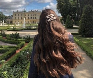 fashion, gardens, and castel image