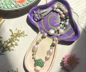 fashion, mushroom, and necklace image