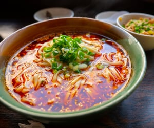 chinese food, spicy, and asian food image