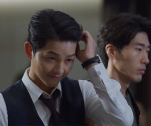 kdrama, song joong ki, and vincenzo image