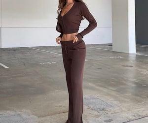 long sleeve, fashionista fashionable, and fashion style mode image