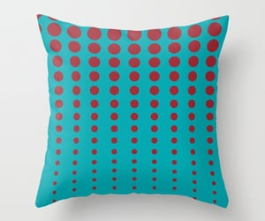 abstract, trending, and red throw pillows image