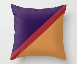 trending, red throw pillows, and abstract image