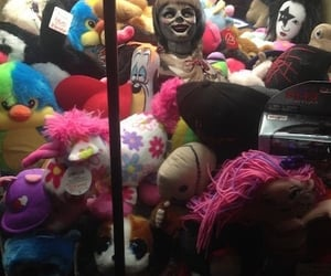 black, doll, and scary image