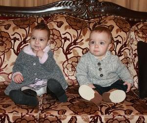 babies, baby boy, and boy and girl image