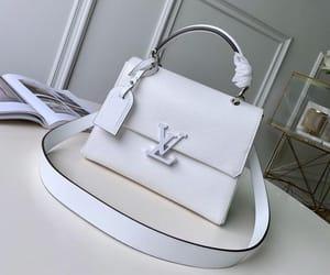 bag, handbag, and white image