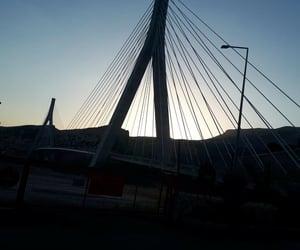 bridge, black, and blue image