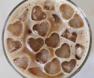 coffee, ice, and drink image