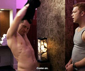 gif, scene, and ian gallagher image