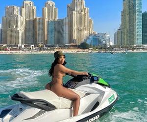 vacation, girl, and baddie image