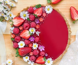 cream, dessert, and eat image