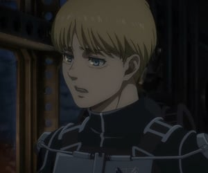 anime, armin, and attack on titan image