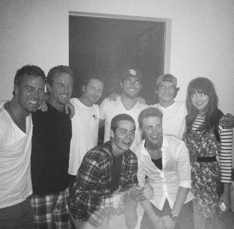 celebs, family, and colton haynes image