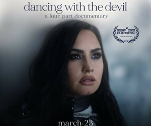 beautiful, demi lovato, and documentary image