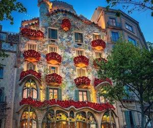 Barcelona, building, and casa batllo image