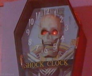 animated gif, gif, and skull image