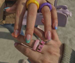 color, nails, and accessories image