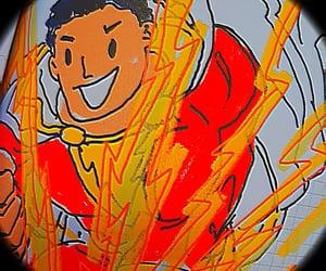DC, shazam, and dc comics image