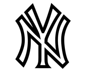 clipart, yankees, and new york image
