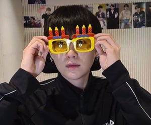 korean, birthday boy, and bts image