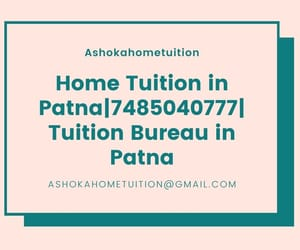 home tuition in patna, home tutor in patna, and tuition bureau in patna image