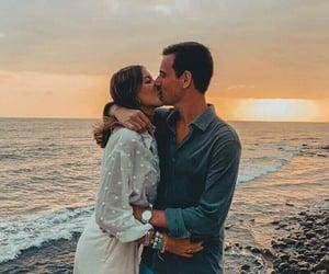 Besos, amor, and seashore image