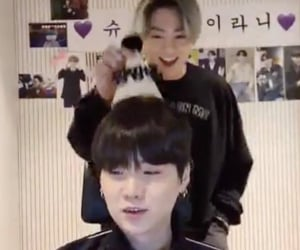 blurry, bts, and jungkook image