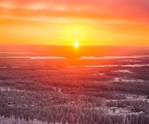 colorful, sundown, and sunrise image