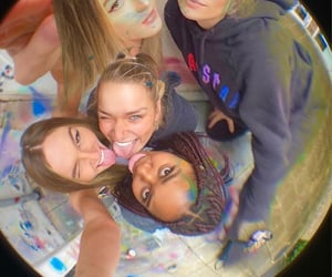 activities, friend group, and aesthetic image