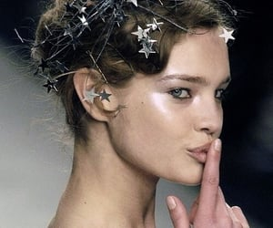 HF, high fashion, and Natalia Vodianova image