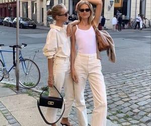 fashion, city, and girls image