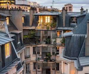 city, france, and homes image