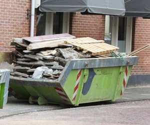 waste removal, junk, and recycle image