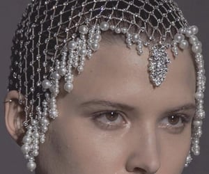 Couture, fashion, and pearl image