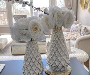 beautiful, decorations, and flower vase image
