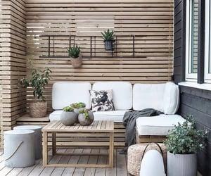 balcon, balcony, and beige image