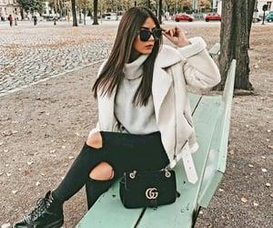 brunette, morena, and instagirl image