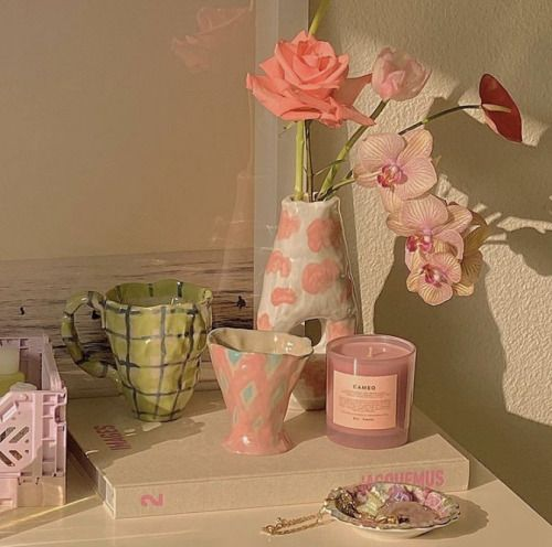 aesthetic, candle, and decor image