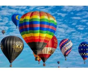 hot air balloons and balloons image