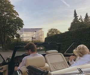 car, couple, and rich image