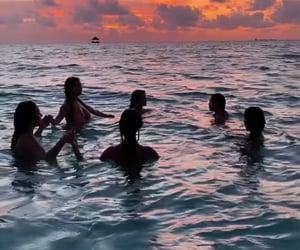 fantasy, girls, and ocean image